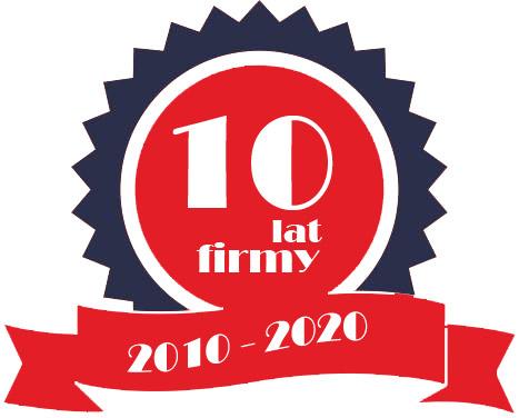 10 lat firmy