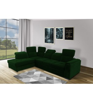 Sofa narożna tapicerowana...