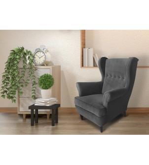 Fotel uszatek Green