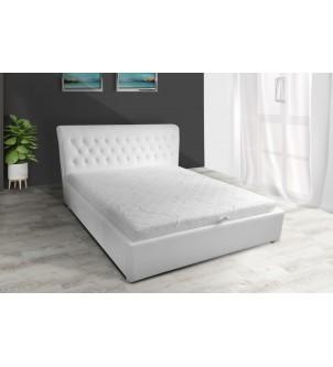 Designerskie łóżko pikowane...