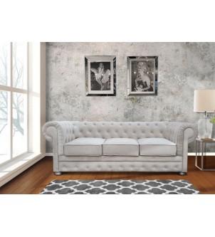 Nowoczesna sofa pikowana 3...