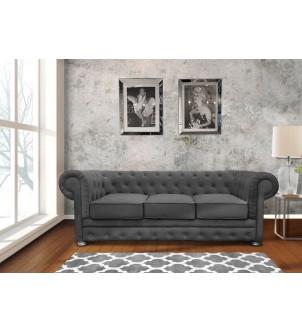 Designerska sofa pikowana 3...