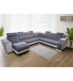 Sofa narożna do salonu BERLIN