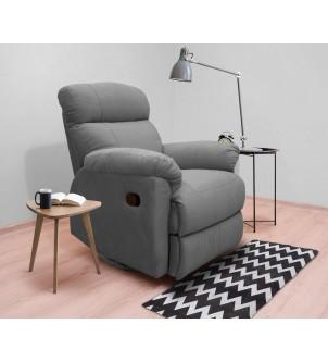 Designerski bujany fotel...