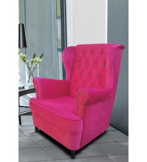 Designerski fotel uszak z...