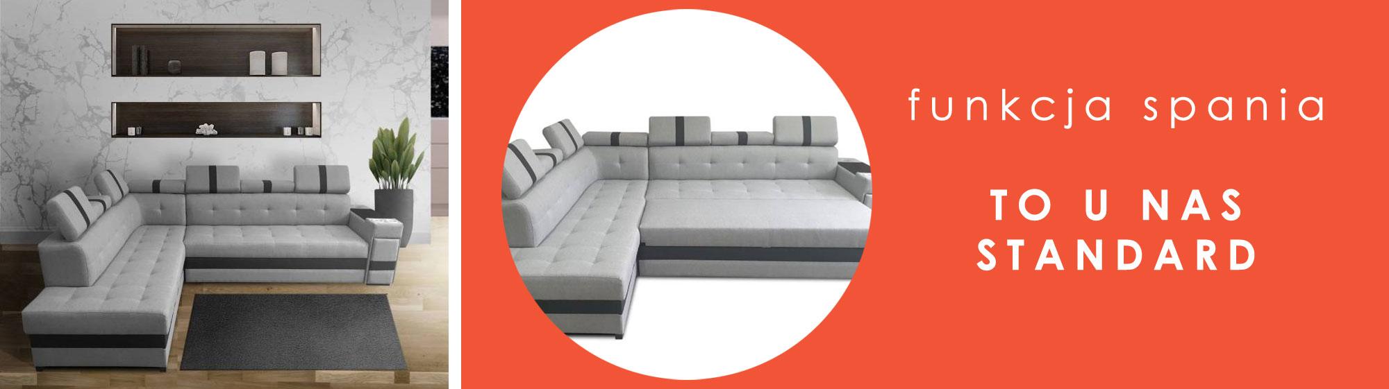Funkcja spania w meblach tapicerowanych